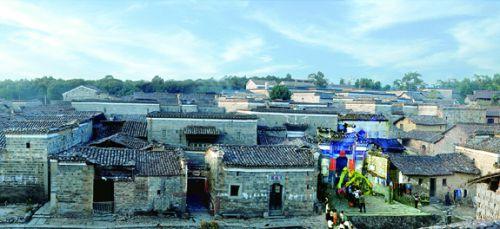 图6:全国历史文化名村、首批中国传统村落——竹桥古村古味十足