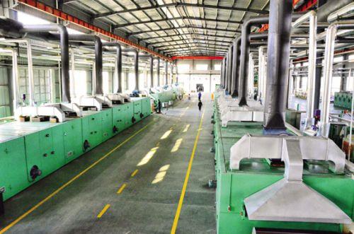 新型材料生产车间-
