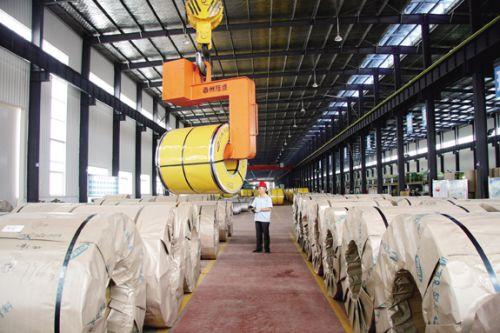 江西飞达钢业生产车间-