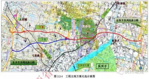 抚州市区交通地图