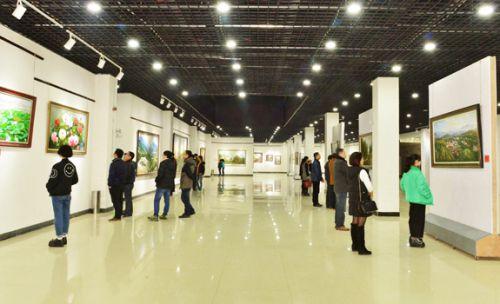 黎川油画创意产业园油画展厅-