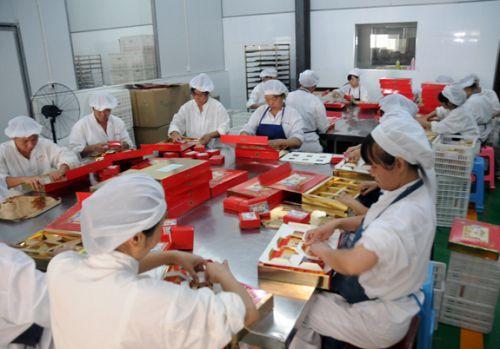 江中食品月饼生产线-