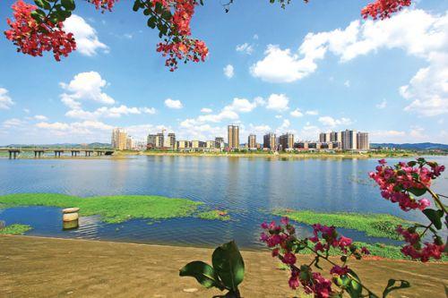 广昌生态秀美新城景-