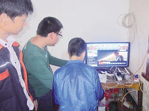 大视频:做实四进四联四帮,打造广昌横路网络电视村-