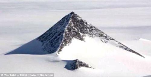 曾有南极出现金字塔的怪谈