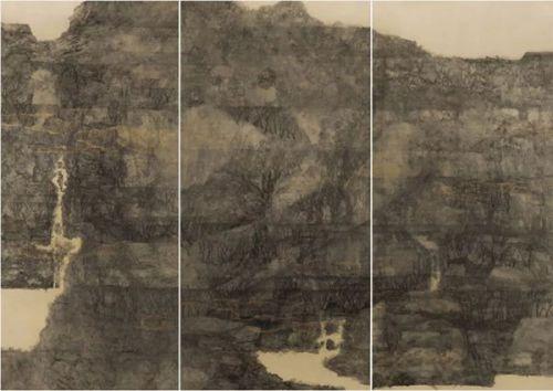 王栋  亘古NO.4  140cm×210cm