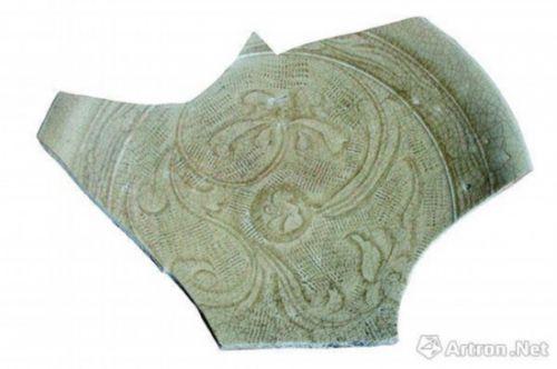 """图1 同安窑珠光青瓷,标志性""""米""""字形荷花纹"""