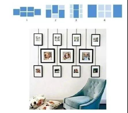 好看的照片墙怎么摆?3秒教会你!