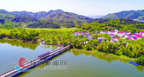 全省第二批生态文明示范基地戈坪村彭公岛