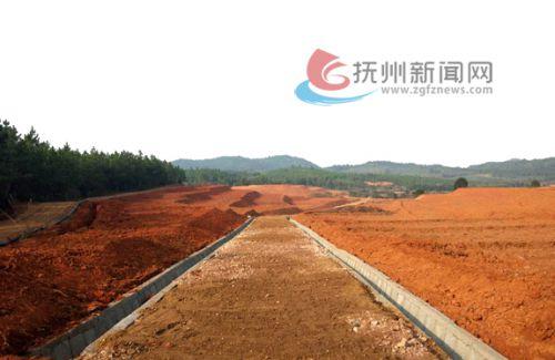 崇仁县许坊乡谙源村古竹土地开发项目实施后-