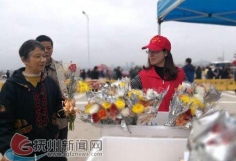 南城:志愿者引领清明新风