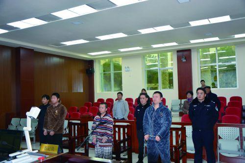 2019年2月26日,南丰县人民法院对于李涛涉恶案件进行判决照片1