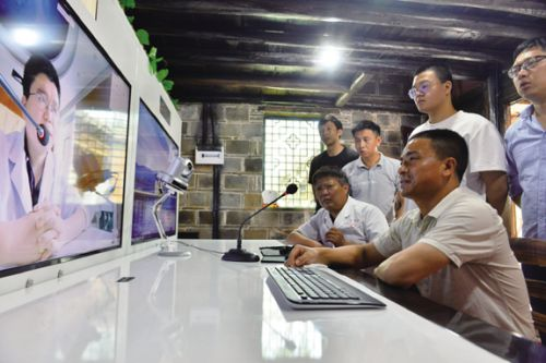 山村农民用上远程医疗DSC_3752-