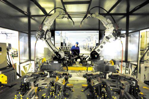 榮成機械智能生產車間-